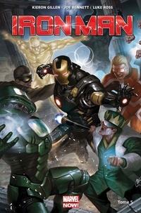 Kieron Gillen et Luke Ross - Iron Man Tome 5 : Les anneaux du mandarin.