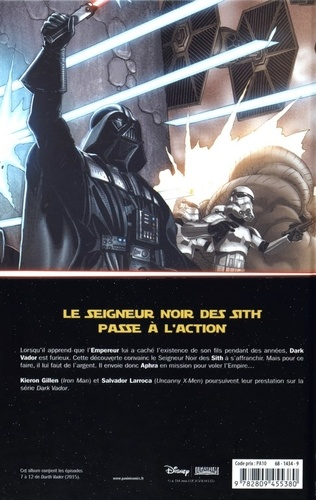 Star Wars - Dark Vador Tome 2 Ombres et mensonges