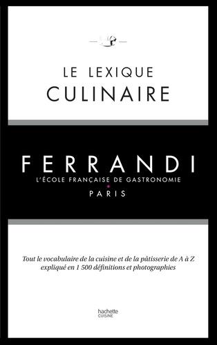 Le lexique culinaire de Ferrandi - 9782012524064 - 14,99 €