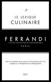 Kilien Stengel - Le lexique culinaire Ferrandi.