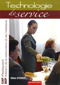 Kilien Stengel - Technologie de service CAP Restaurant BEP Restauration et hôtellerie.