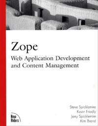 Accentsonline.fr Zope: Web Application Development and Conten Management Image