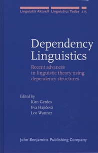 Histoiresdenlire.be Dependency Linguistics - Recent Advances in Linguistic Theory Using Dependency Structures Image