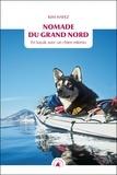 Kim Hafez - Nomade du Grand Nord - En kayak avec un chien esquimo.