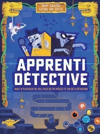 Kimane - Apprenti détective - Avec 8 plateaux de jeu, plus de 70 pions et un dé à détacher.