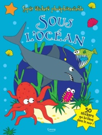 Kimane - Sous l'océan - Livre de stickers.