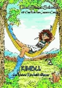 Kimbu, der kleine Käsfußindianer - Ein humorvolles farbig gestaltetes Kinderbuch über einen Indianerjungen, der sich keinesfalls die Füße waschen wollte - ab 4 bis 12 Jahren in A4.