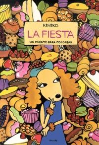 Kimiko - La Fiesta - Un cuento para colorear.