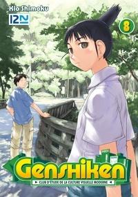Kio Shimoku et Maiko Okazaki - Genshiken  : Genshiken - tome 08.