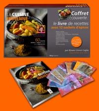 Kirane Grover Gupta - La cuisine indienne facile - Coffret découverte : le livre de recettes avec 12 sachets d'épices à l'intérieur.