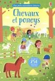 Kirsteen Robson et Adrien Siroy - Chevaux et poneys - Avec plus de 250 autocollants réutilisables.