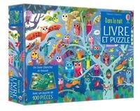 Kirsteen Robson et Gareth Lucas - Dans la nuit - Un livre cherche et trouve et 1 puzzle de 100 picèes.