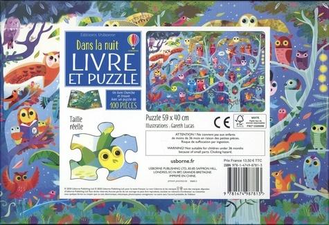 Dans la nuit. Un livre cherche et trouve et 1 puzzle de 100 picèes