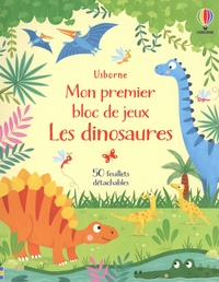 Kirsteen Robson et Samara Hardy - Les dinosaures - mon premier bloc de jeux.