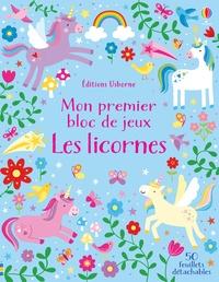 Kirsteen Robson et Penny Bell - Mon premier bloc de jeux Les licornes - Avec 50 feuillets détachables.