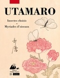 Kitagawa Utamaro - Album d'insectes choisis ; Concours de poèmes burlesques des myriades d'oiseaux.