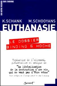 Klaudia Schank et Michel Schooyans - .