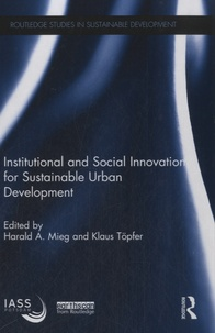 Institutional and Social Innovation for Sustainable Urban Development.pdf