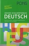 Klett Sprachen - PONS Großes Schulwörterbuch Deutsch.