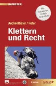 Klettern und Recht - Neu: Haftung von Lehrern.