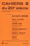 Klincksieck - Cinq rencontres de Jacques Rivière - Avec Paul Claudel, André Gide, Arthur Rimbaud, Marcel Proust et Dada.