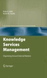 Knowledge Services Management - Organizing Around Internal Markets.