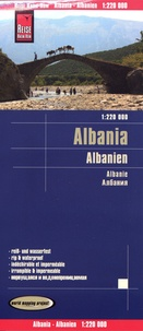 Reise Know-How - Albania - 1/220 000.