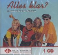 Christos Karabatos - Alles Klar ? - Hörverstehen für Anfanger. 1 CD audio