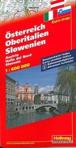 Hallwag International - Autriche - Haute Italie - Slovénie - 1/600 000.