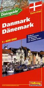 Hallwag International - Danemark - 1/400 000.