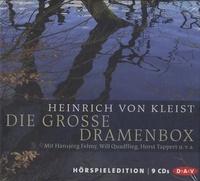 Heinrich von Kleist - Die Grosse Dramenbox. 9 CD audio