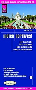 Reise Know-How - Inde, nord-ouest - 1/1 300 000.