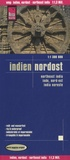 Reise Know-How - Indien Nordost - 1/1 300 000.