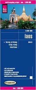 Reise Know-How - Laos - 1:600 000.