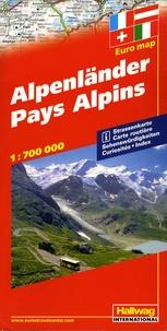 Hallwag International - Pays Alpins - 1/700 000.