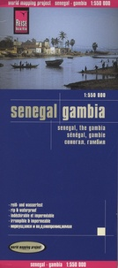 Reise Know-How - Sénégal, Gambie - 1/550 000.