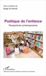 Kodjo Attikpoé - Poétique de l'enfance - Perspectives contemporaines.