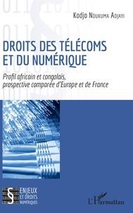 Kodjo Ndukuma Adjayi - Droits des télécoms et du numérique - Profil africain et congolais, prospective comparée d'Europe et de France.