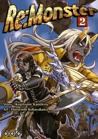 Kogitsune Kanekiru et Haruyoshi Kobayakawa - Re:Monster Tome 2 : .