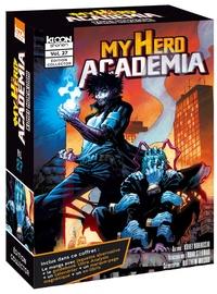 Kohei Horikoshi - My Hero Academia  : Coffret en 2 volumes : My Hero Academia Tome 27 : One's justice ; My Hero Academia : Ultra Analysis. Guide officiel - Avec une jaquette alternative, un calendrier, un marque-page magnétique et ex-libris.