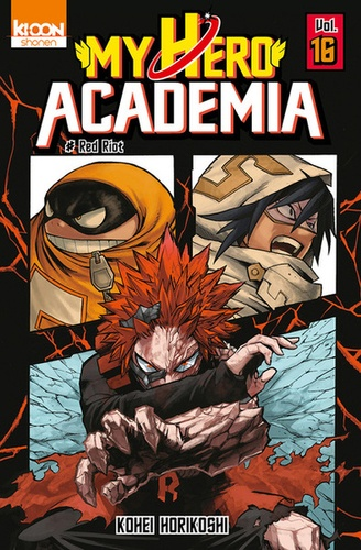 My Hero Academia Tome 16 Red Riot