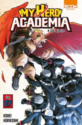 My Hero Academia Tome 27 One's justice