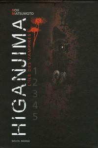 Koji Matsumoto - Higanjima Tomes 1 à 5 : Coffret en 5 volumes.