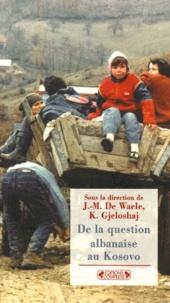 Deedr.fr De la question albanaise au Kosovo - [actes d'un colloque, Bruxelles, 20 mai 1999 Image