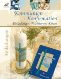 Kommunion & Konfirmation - Einladungen, Tischkarten, Kerzen.