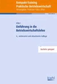 Kompakt-Training Einführung in die Betriebswirtschaftslehre.