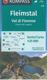 Kompass - Fleimstal, Val di Fiemme - 1/25 000.