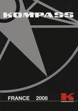 Kompass - Kompass National France 2008 - 4 volumes : Tomes 1 et 2, Produits et services ; Tomes 3 et 4, Entreprises.