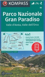 Kompass - Parco Nazionale Gran Paradiso - Valle d'Aosta, Valle dell'Orco.