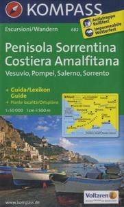 Kompass - Penisola Sorrentina Costiera Amalfitana - Vesuvio, Pompei, Salerno, Sorrento.